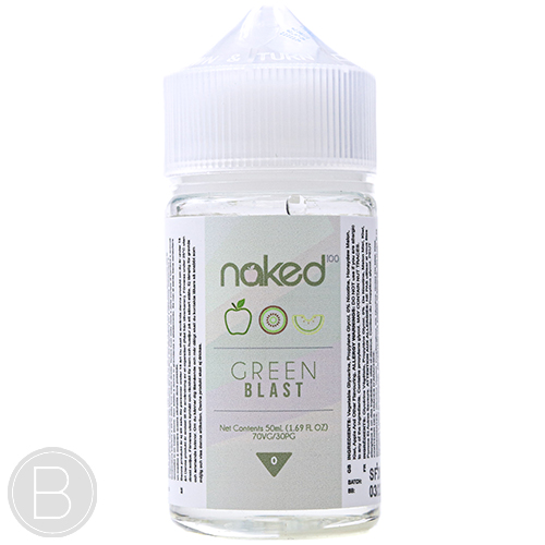 Naked 100 - Green Blast - 50ml Shortfill E-Liquid - BEAUM VAPE
