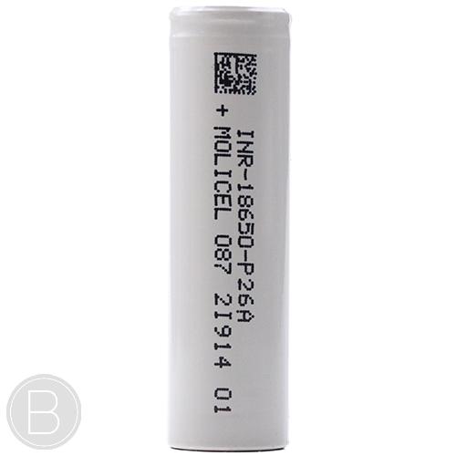 Molicel - INR18650 P26A - Beaum Vape