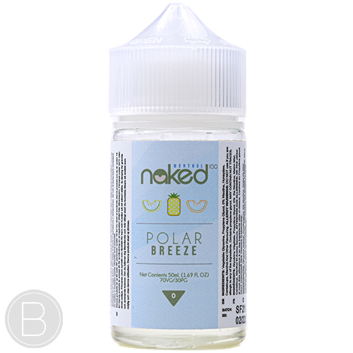 Naked 100 Menthol - Polar Breeze - 50ml Shortfill E-Liquid - BEAUM VAPE