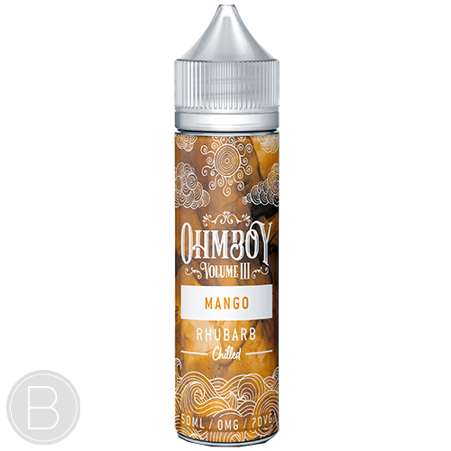 Ohm Boy Volume III - Mango & Rhubarb Chilled - BEAUM VAPE