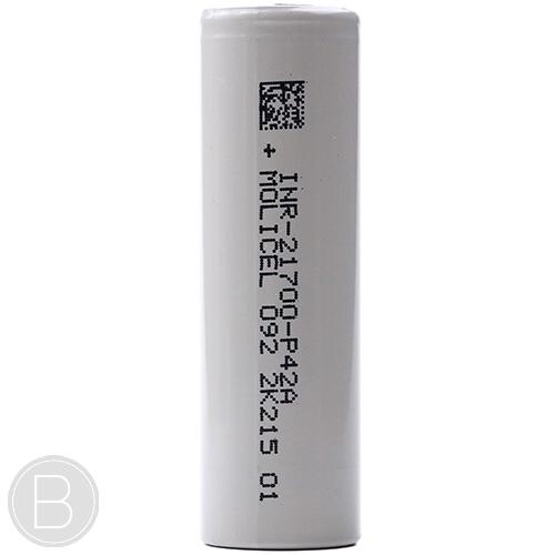 Molicel - INR 21700 P42A - 4200mAh 21700 Battery - BEAUM VAPE