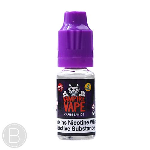 Vampire Vape - Caribbean Ice - 10ml E-Liquid - BEAUM VAPE
