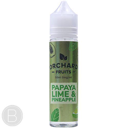 Orchard Fruits - Papaya, Lime & Pineapple - 50ml Shortfill - BEAUM VAPE