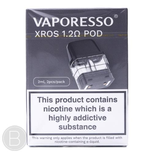 Vaporesso - XROS Pods - 2 Pack - 1.2Ω & 0.8Ω - BEAUM VAPE