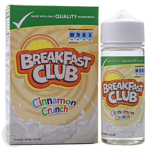 Breakfast Club - Cinnamon Crunch - 100ml Shortfill - BEAUM VAPE