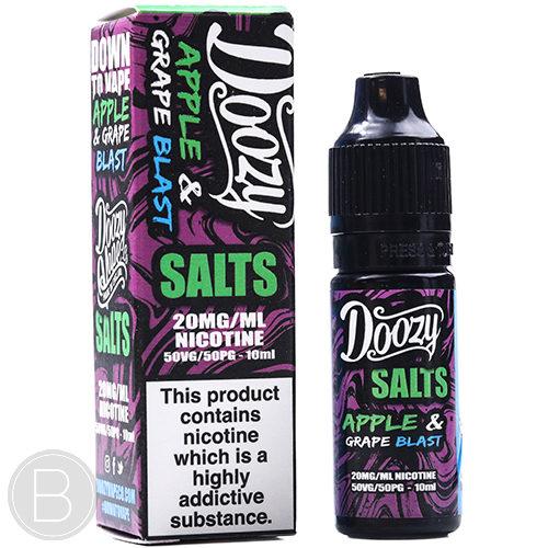 Doozy Vape Salts - Apple & Grape Blast - 10ml E-Liquid - BEAUM VAPE