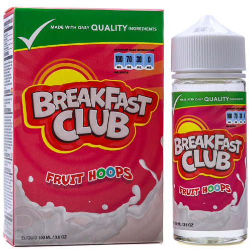 Breakfast Club - Fruit Hoops - 100ml Shortfill - BEAUM VAPE