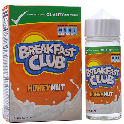 Breakfast Club - Honey Nut - 100ml Shortfill - BEAUM VAPE