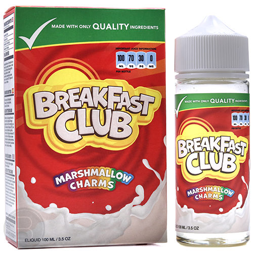 Breakfast Club - Marshmallow Charms - 100ml Shortfill - BEAUM VAPE