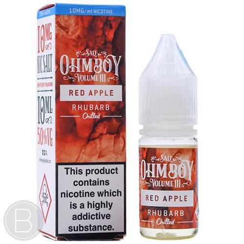 Ohm Boy Volume III Salt - Red Apple & Rhubarb Chilled - BEAUM VAPE