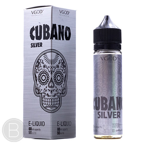 VGOD - Cubano Silver - 50ml 0mg Shortfill - BEAUM VAPE