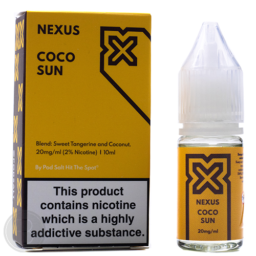 Nexus Salts - Coco Sun - 10ml Salt Nicotine E-Liquid - BEAUM VAPE