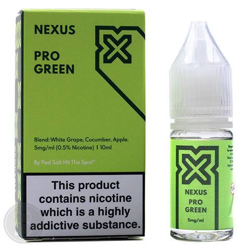 Nexus Salts - Pro Green - 10ml Salt Nicotine E-Liquid - BEAUM VAPE