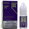 Nexus Salts - Super Loe - 10ml Salt Nicotine E-Liquid - BEAUM VAPE