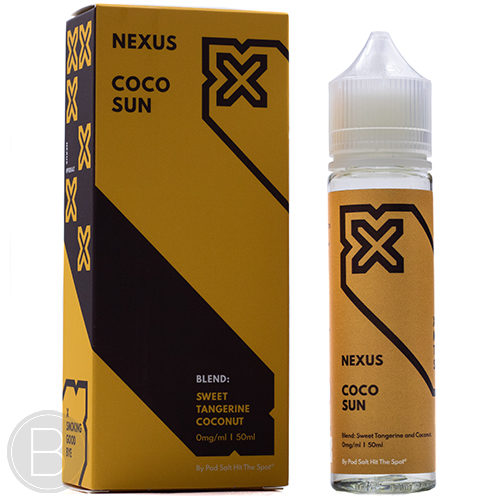 Nexus - Coco Sun - 0mg 50ml E-liquid - BEAUM VAPE