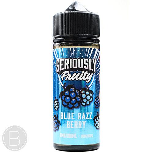 Seriously Fruity - Blue Razz Berry - 100ml Shortfill - BEAUM VAPE