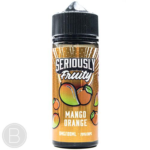 Seriously Fruity - Mango Orange - 100ml Shortfill - BEAUM VAPE