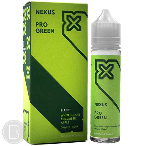 Nexus - Pro Green - 0mg 50ml E-liquid - BEAUM VAPE
