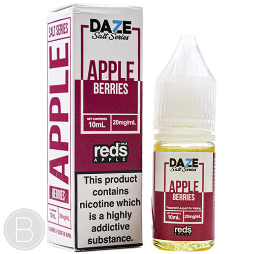 Reds Apple Salts - Apple Berries - 10ml Salt E-Liquid - BEAUM VAPE