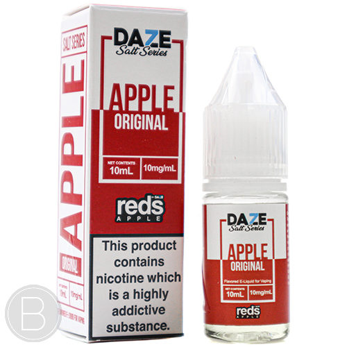 Reds Apple Salts - Original Apple - 10ml Salt E-Liquid - BEAUM VAPE