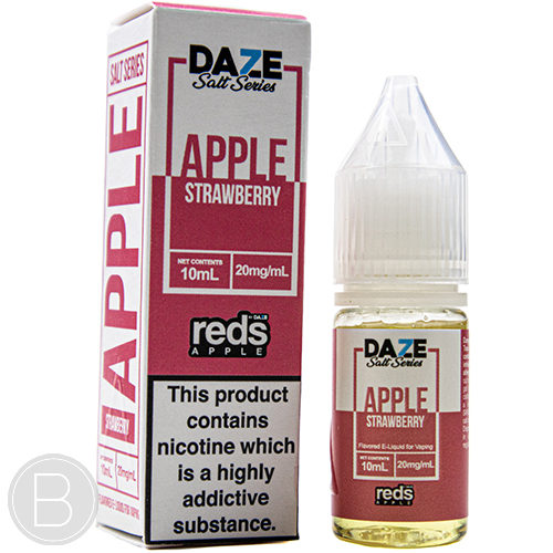 Reds Apple Salts - Apple Strawberry - 10ml Salt E-Liquid - BEAUM VAPE