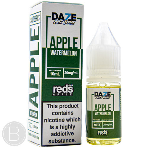 Reds Apple Salts - Apple Watermelon - 10ml Salt E-Liquid - BEAUM VAPE