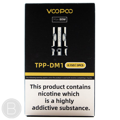 VooPoo - TPP Replacement Coils - Pack of 3 - BEAUM VAPE