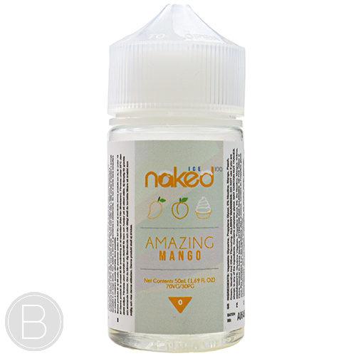 Naked 100 - Amazing Mango Ice - 50ml Shortfill E-Liquid - BEAUM VAPE