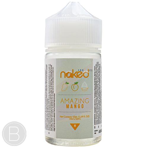 Naked 100 E Liquid - Amazing Mango 50ml