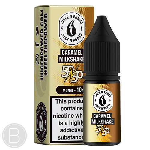 Juice N Power - Caramel Milkshake - 50/50 E-Liquid - BEAUM VAPE