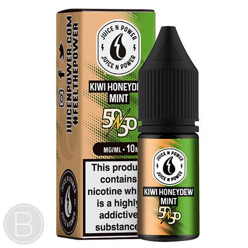 Juice N Power - Kiwi Honeydew Mint - 50/50 E-Liquid - BEAUM VAPE