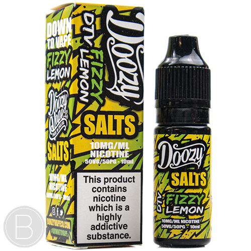 Doozy Vape Salts - Fizzy Lemon - 10ml E-Liquid - BEAUM VAPE