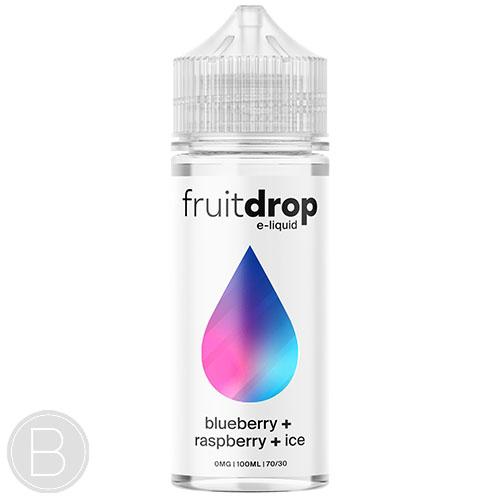 Fruit Drop - Blueberry Raspberry Ice - 100ml Shortfill - BEAUM VAPE
