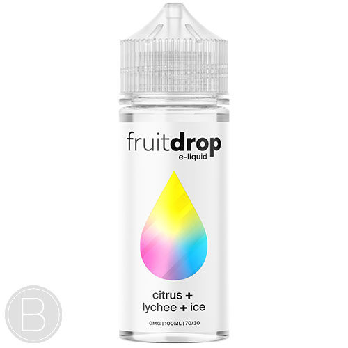 Fruit Drop - Citrus Lychee Ice - 100ml Shortfill - BEAUM VAPE