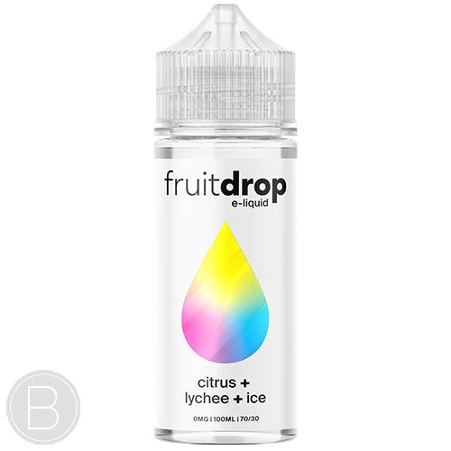 Fruit Drop - Citrus Lychee Ice - 100ml Shortfill - BEAUM VAPE