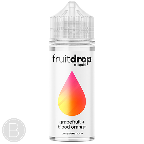Fruit Drop - Grapefruit Blood Orange - 100ml Shortfill - BEAUM VAPE