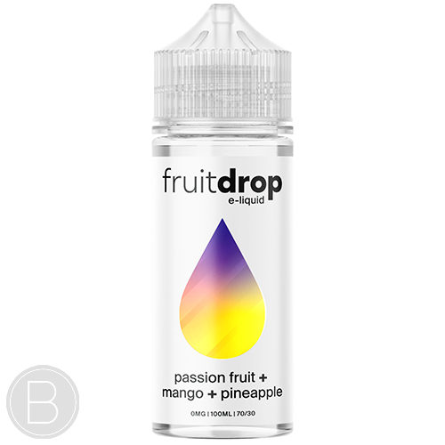 Fruit Drop - Passion Fruit Mango Pineapple - 100ml - BEAUM VAPE