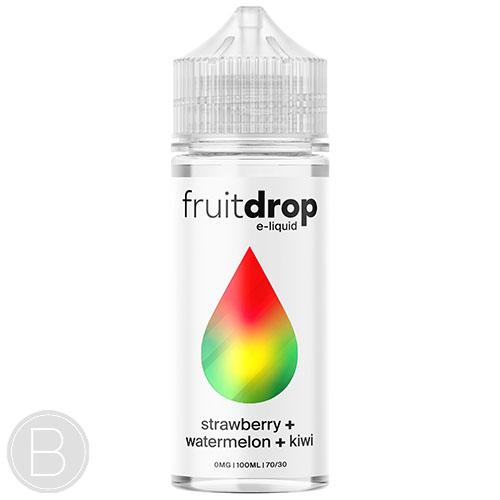 Fruit Drop - Strawberry Watermelon Kiwi - 100ml Shortfill - BEAUM VAPE