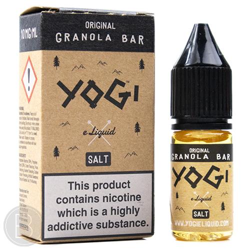 YOGI Salt - Original Granola Bar - 10/20mg Salt E-Liquid 10ml - BEAUM