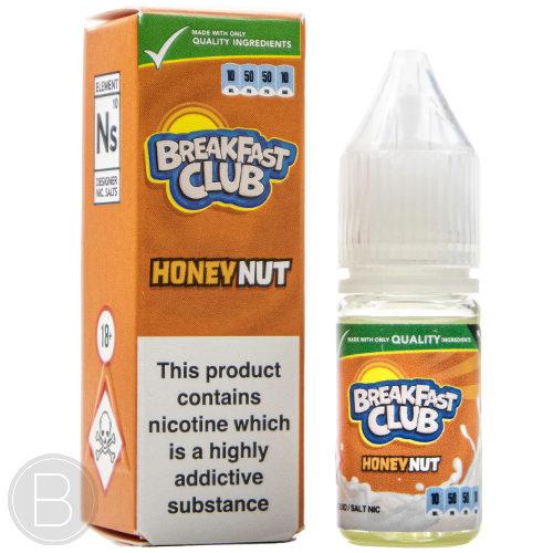 Breakfast Club Salts - Honey Nut - Salt E-Liquid - BEAUM VAPE